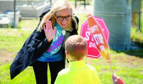 Statewide trek aims to support child safety