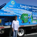 Turning dirty trash bins into a thriving business