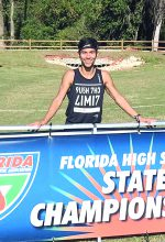 Distance runner receives Academic All-State honors
