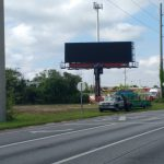 Digital billboard lights up Land O' Lakes