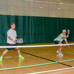 Putting their pickleball skills to the test