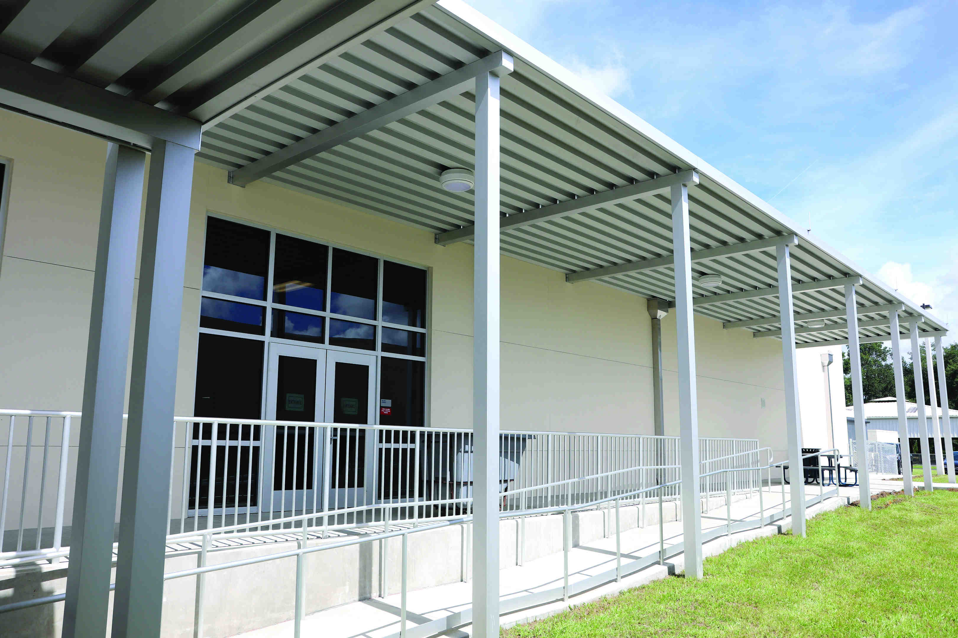Woodland Elementary School gets new look