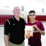 Ian Flores receives state, national honors