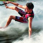 Local youth barefoot water-skier is a rising star