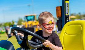 Kids and adults have fun at Touch-A-Truck event