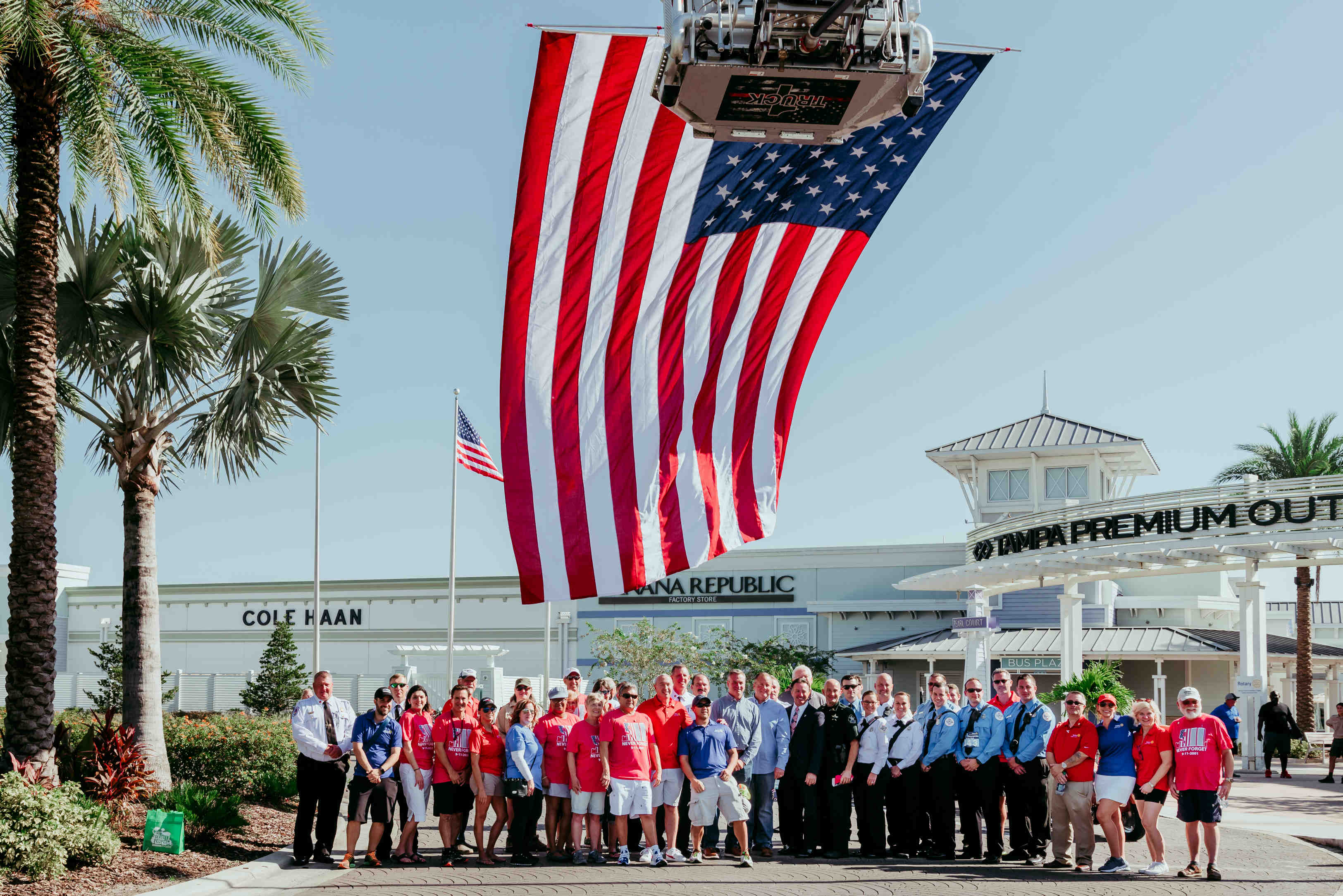 Incredible Pasco County Unveils First Permanent 9 11 Memorial Home Remodeling Inspirations Propsscottssportslandcom